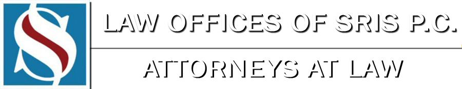 Law Offices of SRIS P.C.   Virginia   Maryland   DC